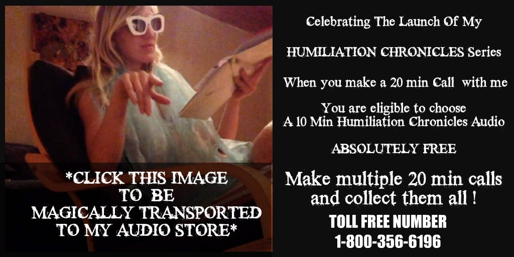 HUMILIATION CHRONICLES AUDIO GIVEAWAY