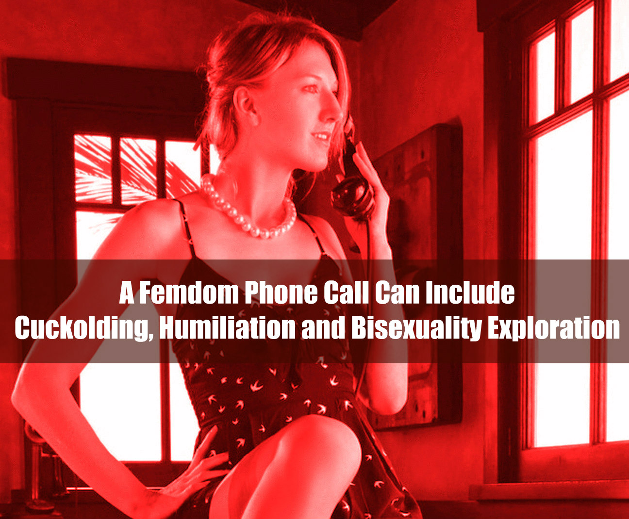 What To Expect During Your Strap On Femdom Phone Call