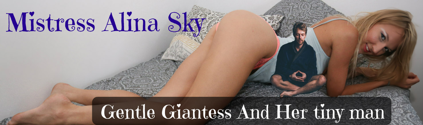 Gentle Giantess And Her tiny man